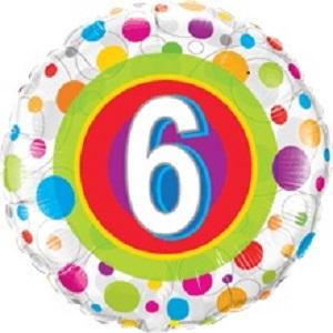 Folienballon Bub Geburtstag 5 Jahre
