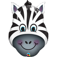 Qualatex Folienballon zebra