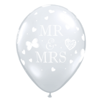 Rundballon mr ans Mrs