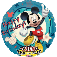 Singener Folienballon happy birthday to you mickey mouse
