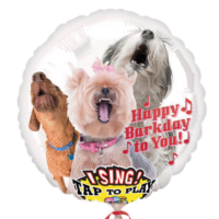 Singener Folienballon happy Barkday to You