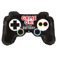 Folienballon game controller birthday