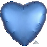 Satin Luxars Colour Herz Azur
