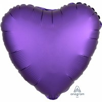 Satin Luxars Colour Herz Purple