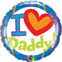 Folienballon I Love Dad