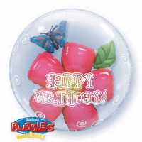 Double Bubble -flower birthday