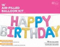 Happy Birthbay ballon kit