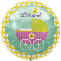 Welcome Baby Buggy
