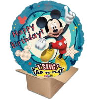 Ballongruss Singener Ballon Happy Birthday to you Mickey mouse