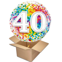 Happy Birthday Rainbow 40