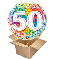 Happy Birthday Rainbow 50