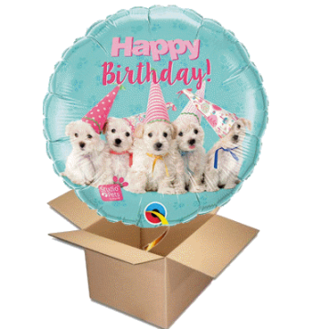 Happy Birthday - welpen pets