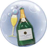 Double Bubble - Champagne Flasche