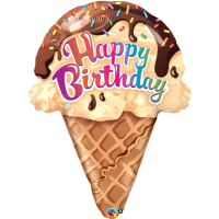 happy birthday Ice cream