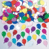 Konfetti Partyballons mehrfarbig 14 g