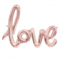 love script folienballon