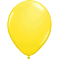 Qualatex Luftballon yellow