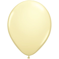 Qualatex Luftballon Ivory Silk