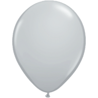 Qualatex Luftballon Grey