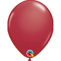 Qualatex Luftballon maroon