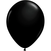 Qualatex Luftballon onyx black