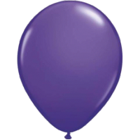 Qualatex Luftballon purple