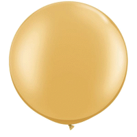 Riesenballon gold